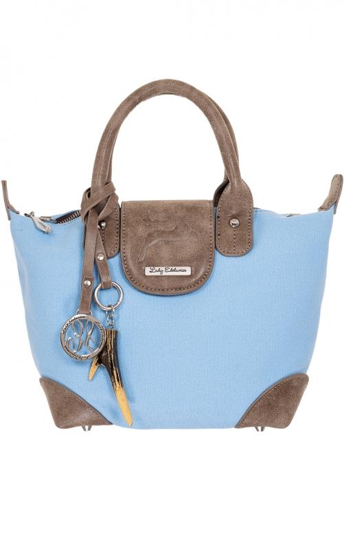 Traditional Handle bag 15008 lightblue