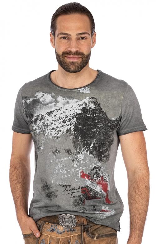 T-Shirt EBERHARD Austria grau