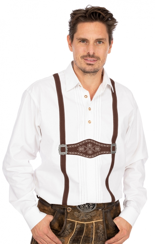 German traditional shirt JACKL white