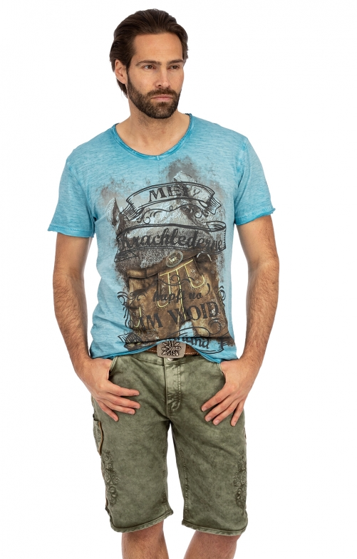 Trachtenjeans HECTOR Short army