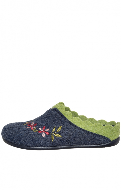 Traditional Slipper NESRIN blue apple