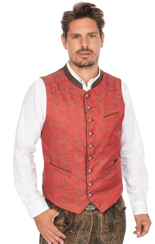 Tradition vest PEPE red