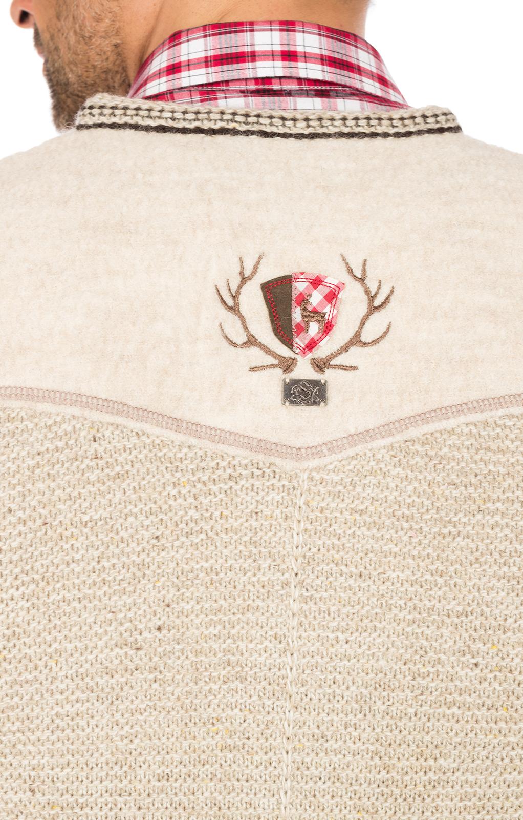 weitere Bilder von German knitted waistcoat Ramsau SW nature