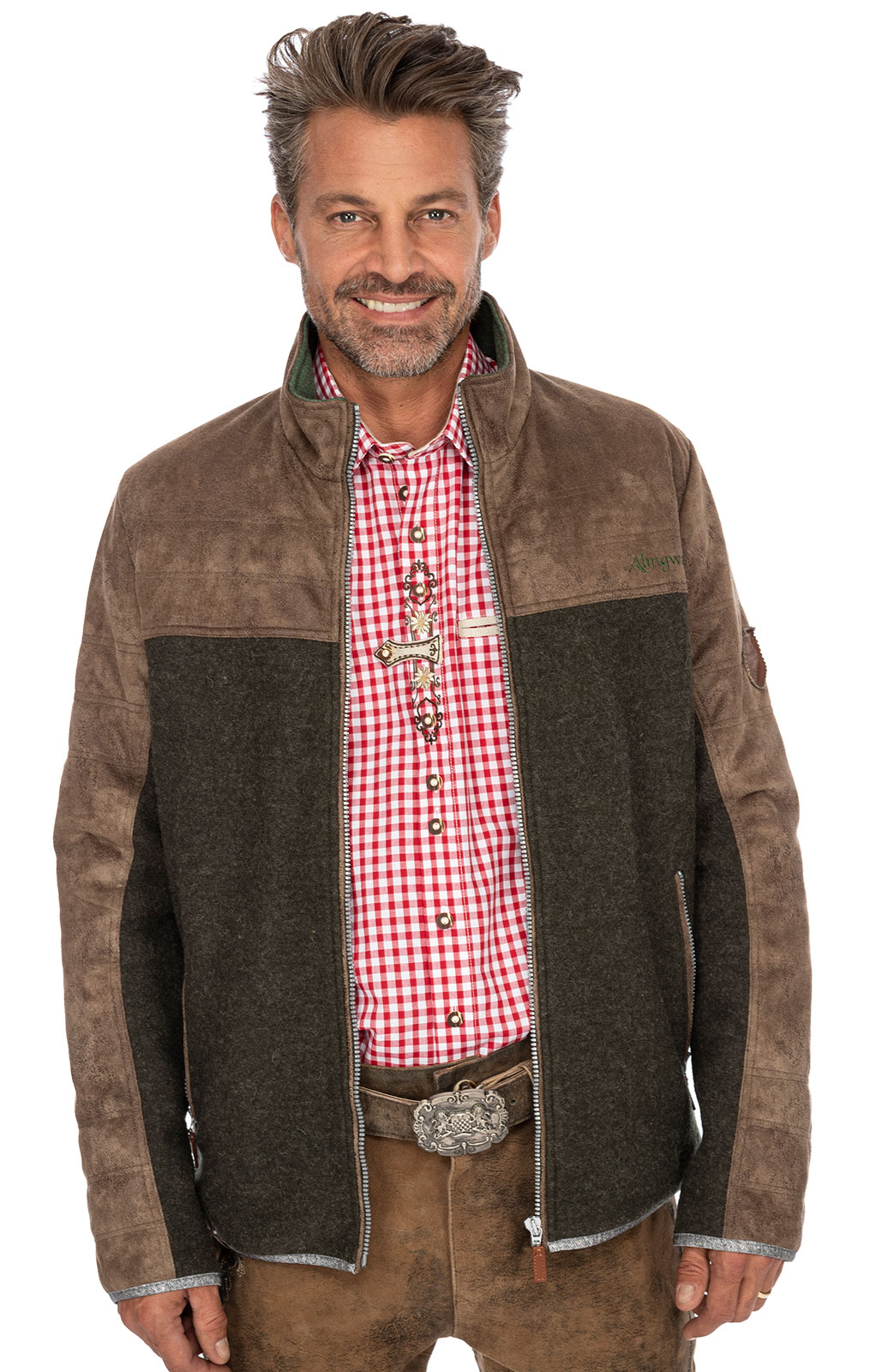 weitere Bilder von German traditional jacket POLLESKOGEL olive
