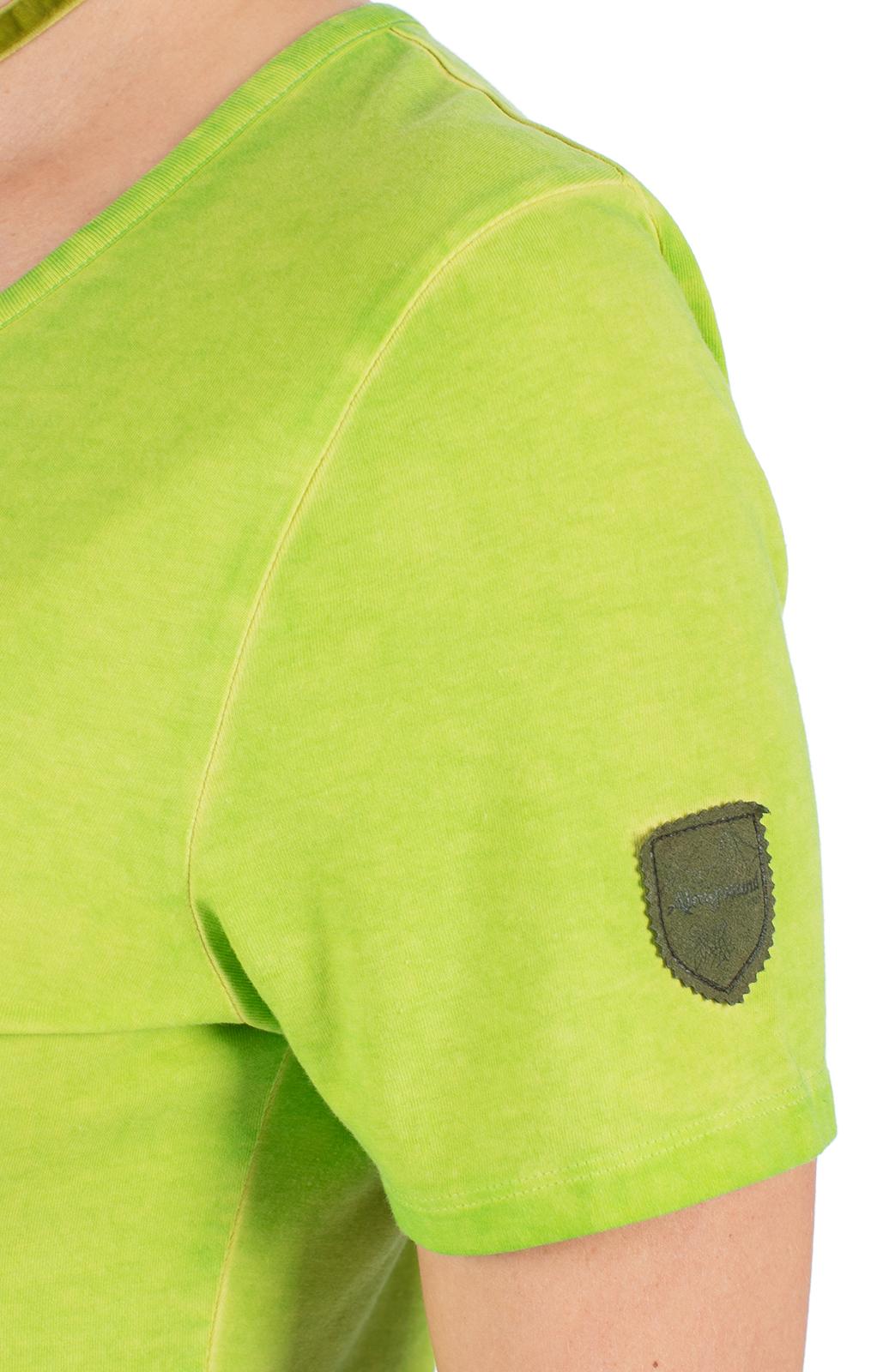 weitere Bilder von Trachten Shirt WALLERALM lime