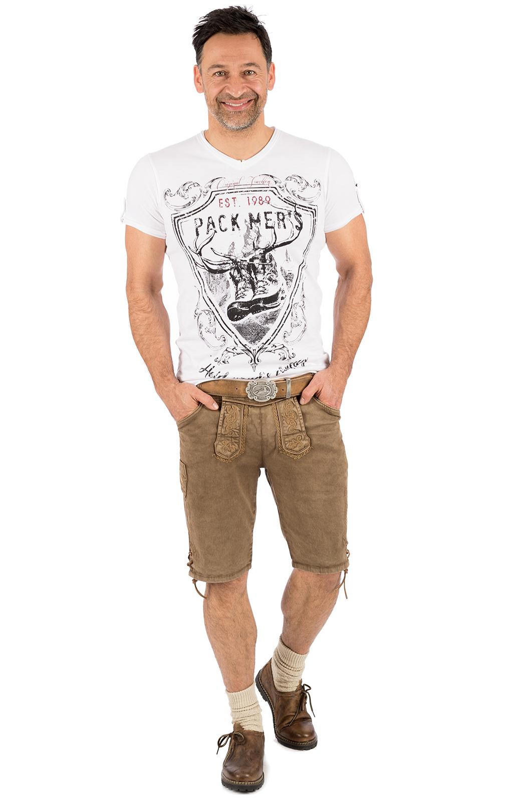 weitere Bilder von Trachten T-Shirt E55 - ERNST weiß