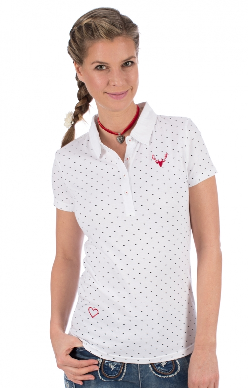 Maglietta tradizionale RUTH bianco