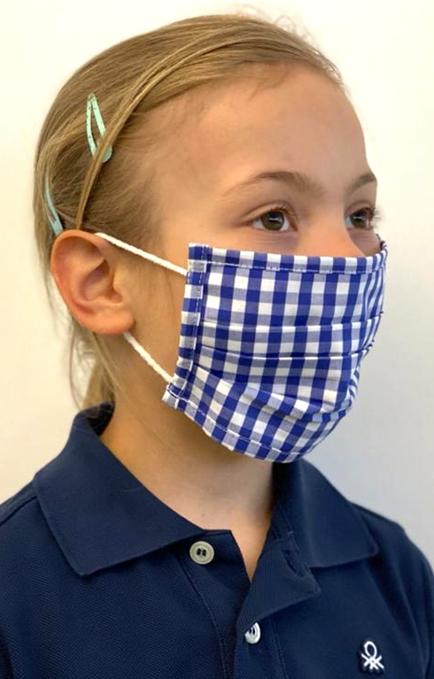 Children Face mask 489000-2652-42 blue