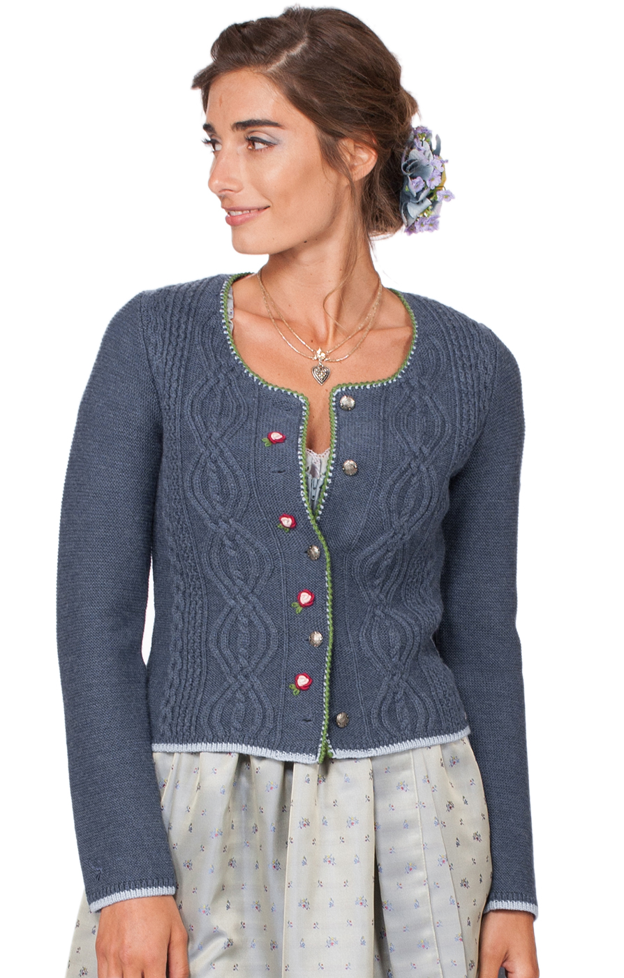 weitere Bilder von Giacca in maglia per Dirndl Fancy denimblu