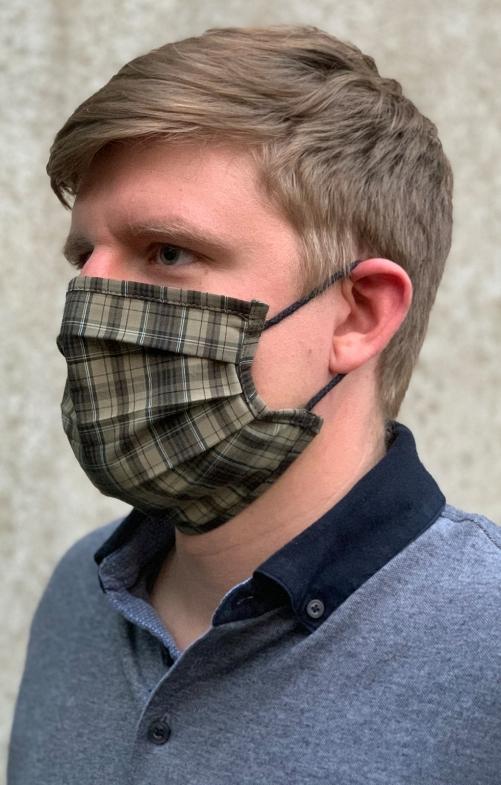 Face mask 2917-55 khaki