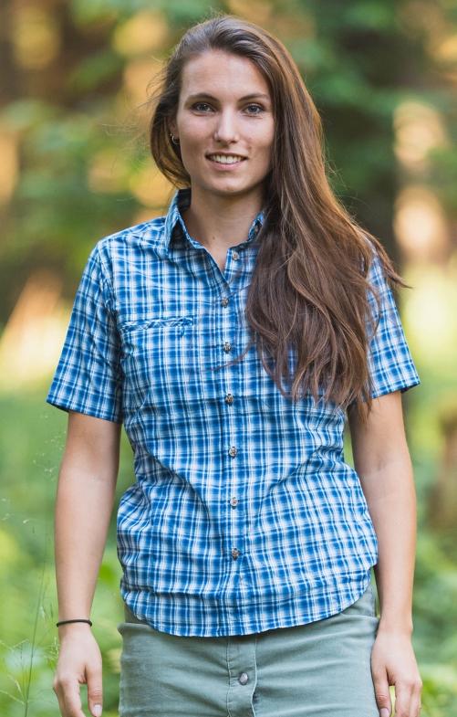 Camicetta tradizionale 441000-3877-48 jeansblu