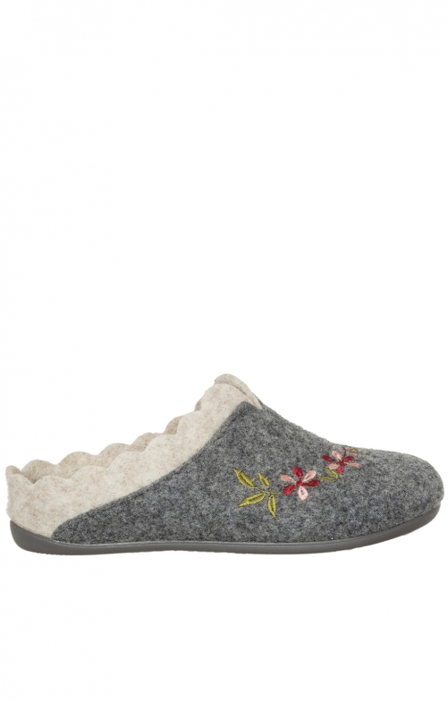 Traditional Slipper NESRIN gray nature