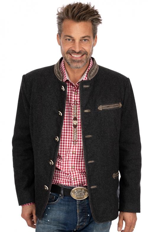Jacke MANNI wool grau