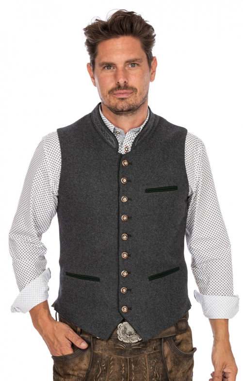 Tradition vest SIRIUS gray fir