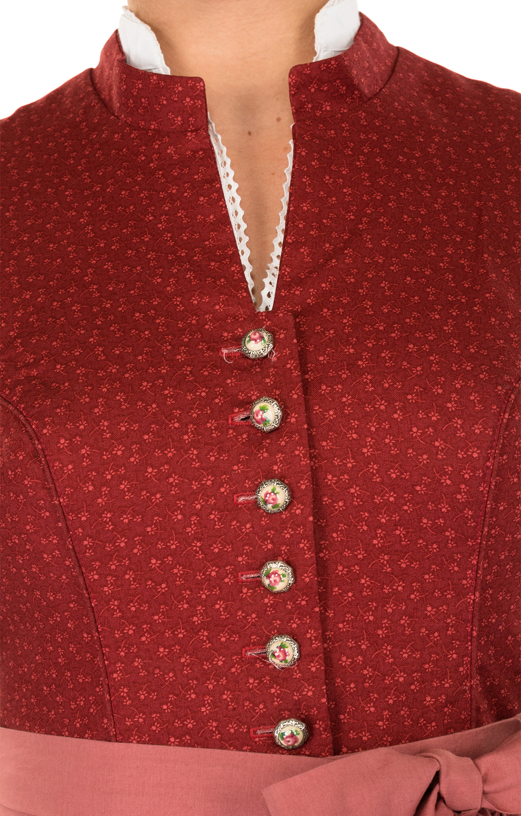 weitere Bilder von Mididirndl 2pcs. 65 cm Barbara red