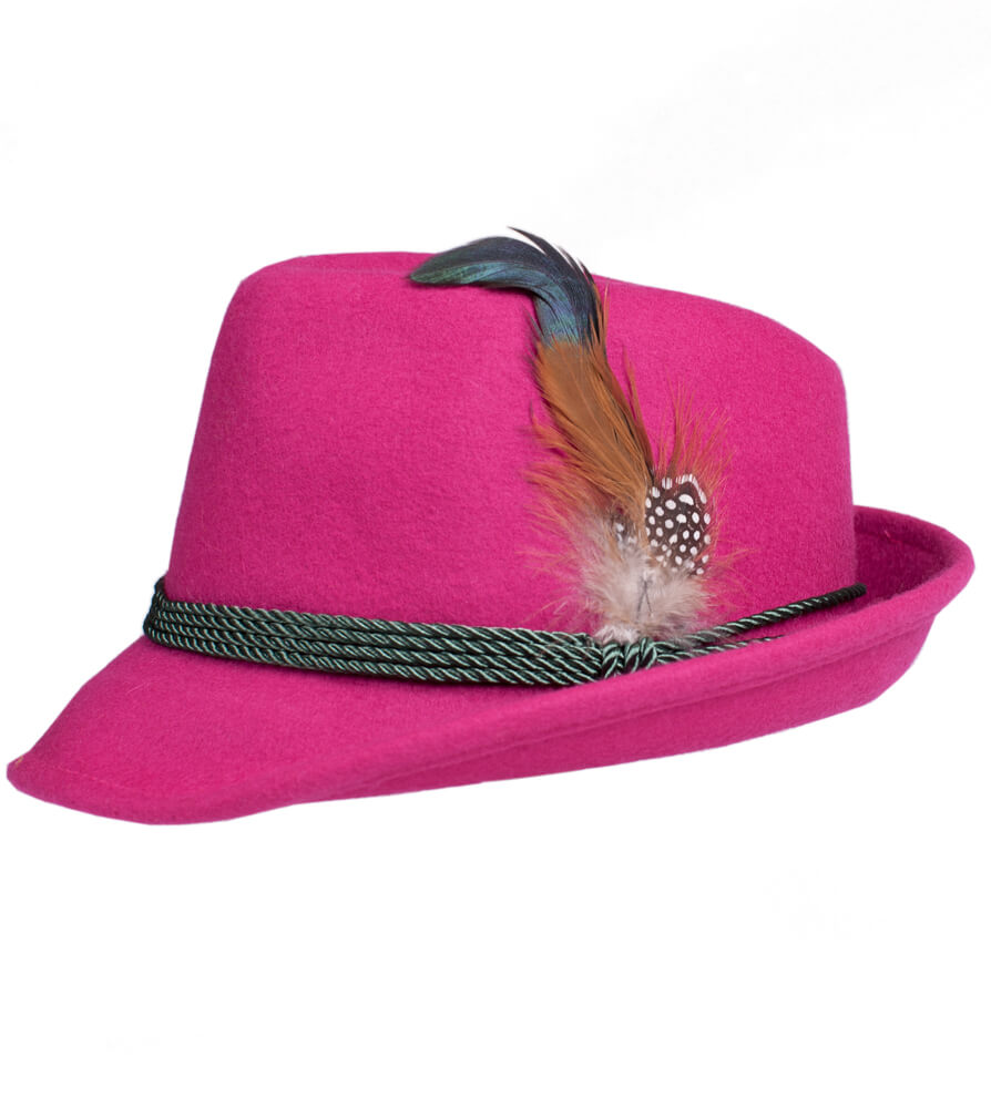 weitere Bilder von Costume hat HT750 with feather pink