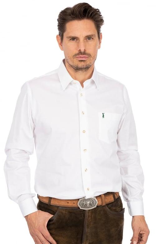 Camicia per Trachten LF134 bianco