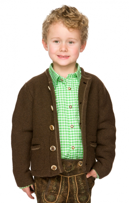 Children cardigan MALO Dark brown