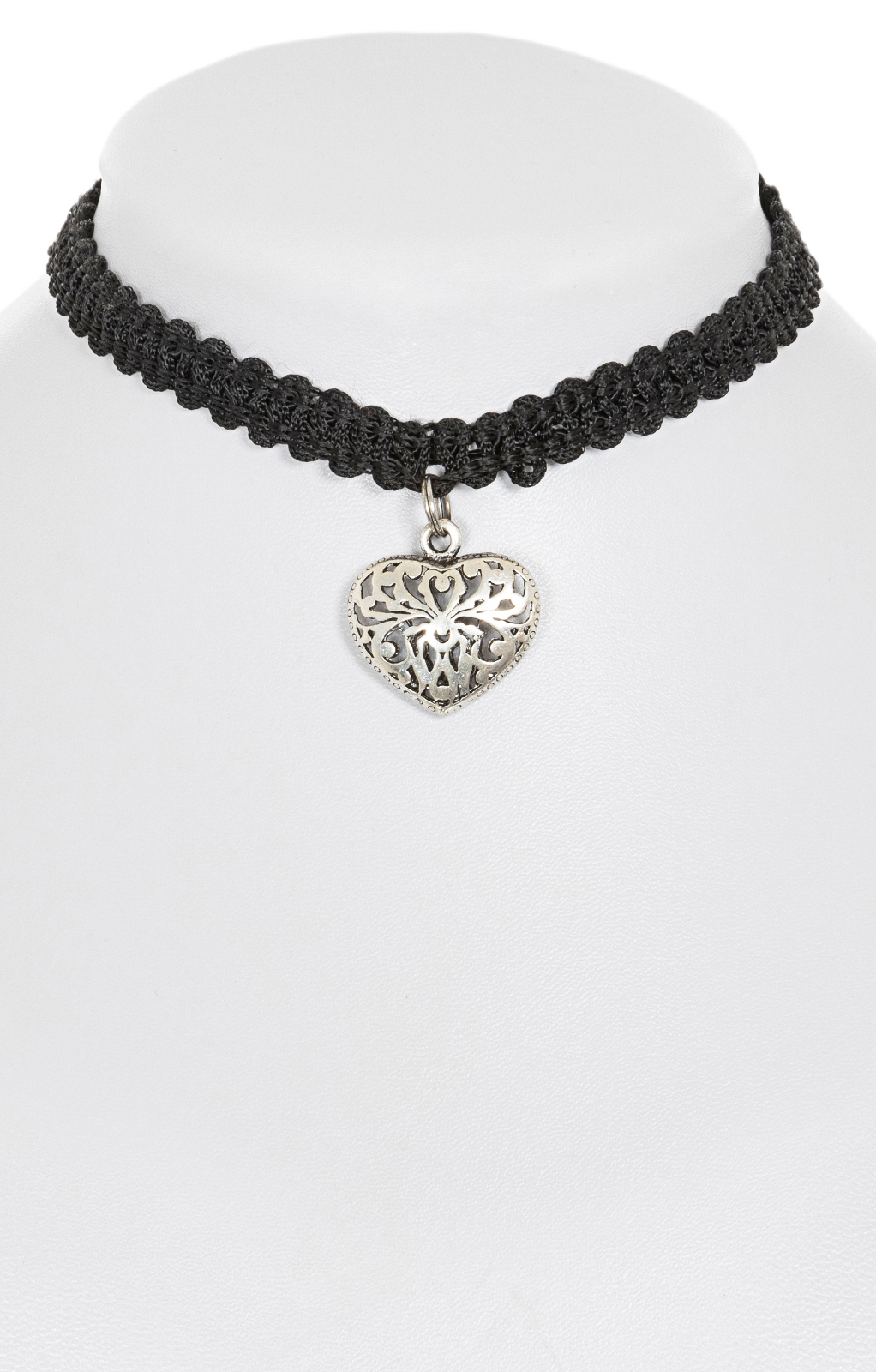 Traditional necklace 1414-11 black von Krüger Dirndl
