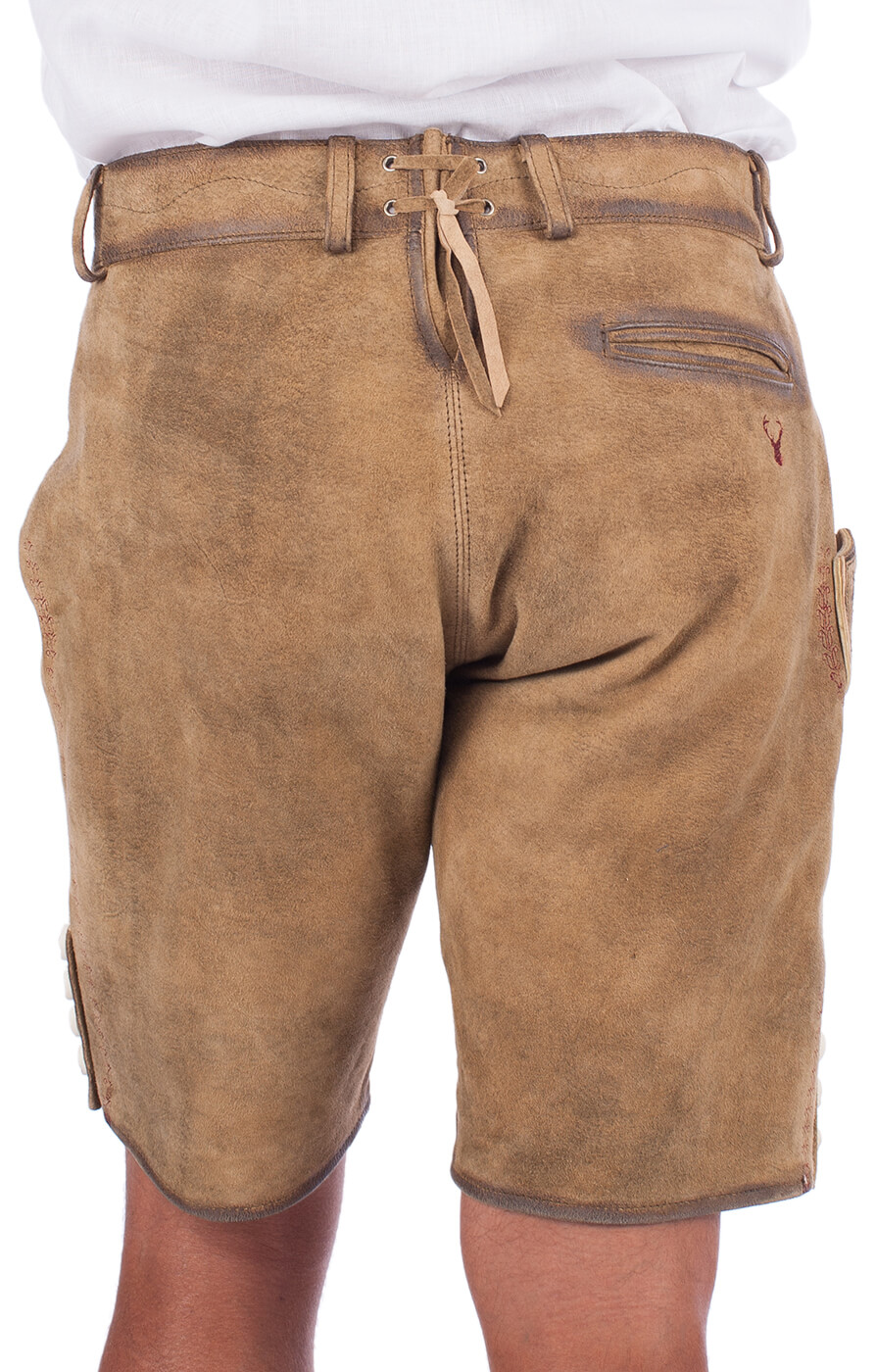 weitere Bilder von German leather trousers Gremlin brown