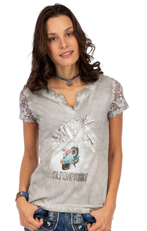 T-Shirt 321141 hellgrau