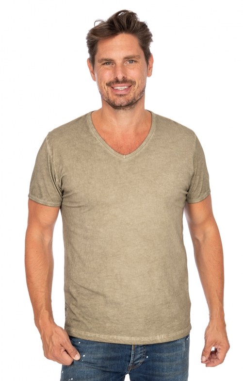 Trachten T-Shirt FALKO wood