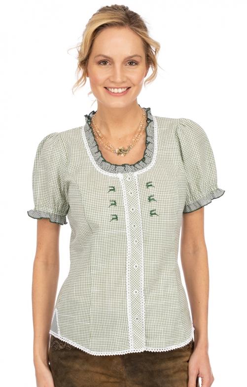 Bluse LILIA grün