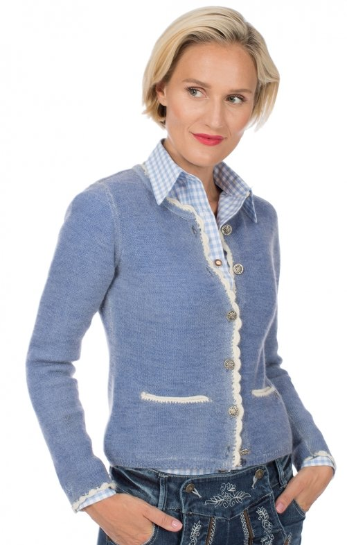 Traditional Cardigan HORGAU blau