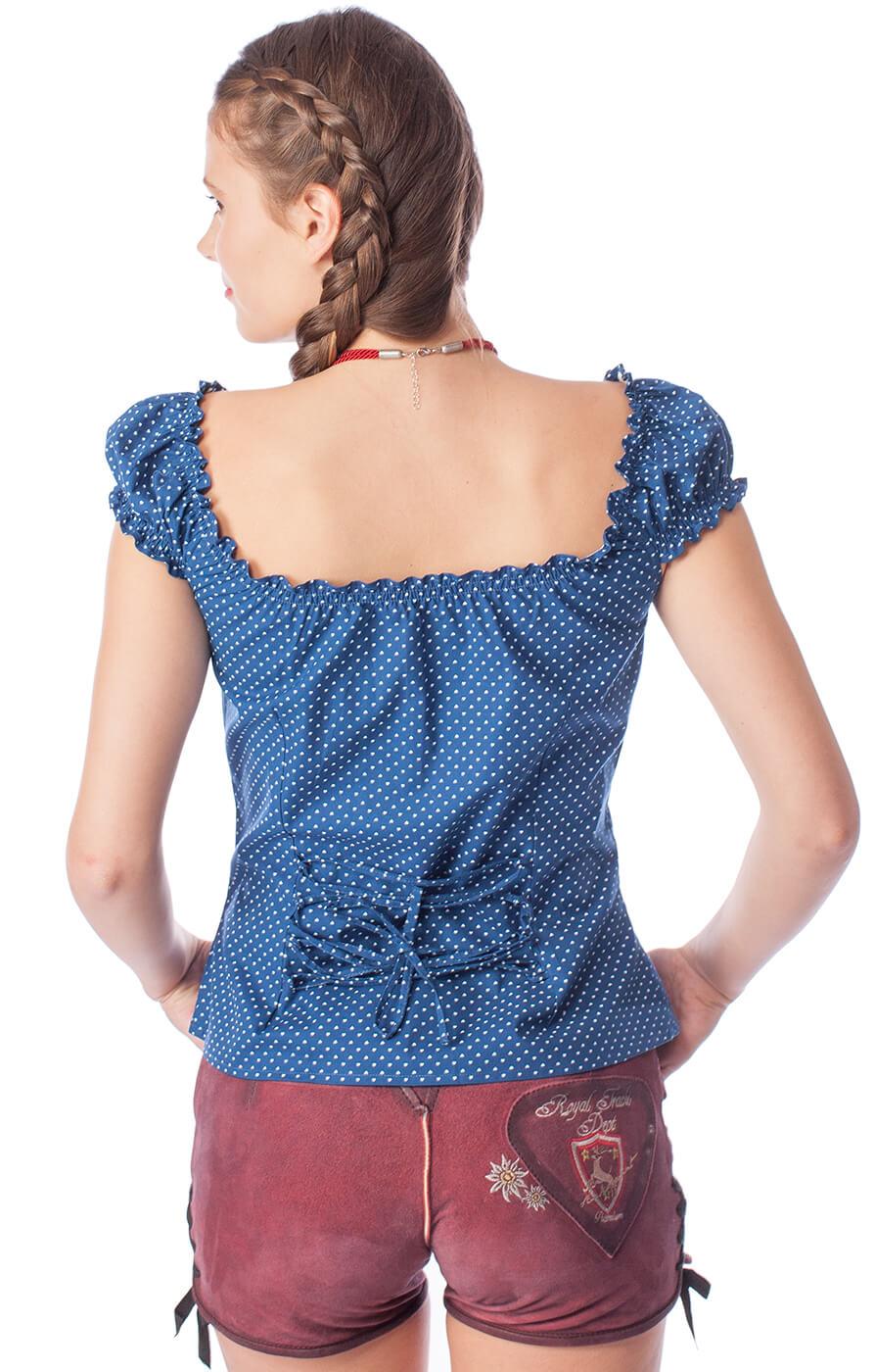 weitere Bilder von Trachten blouse Milena blue
