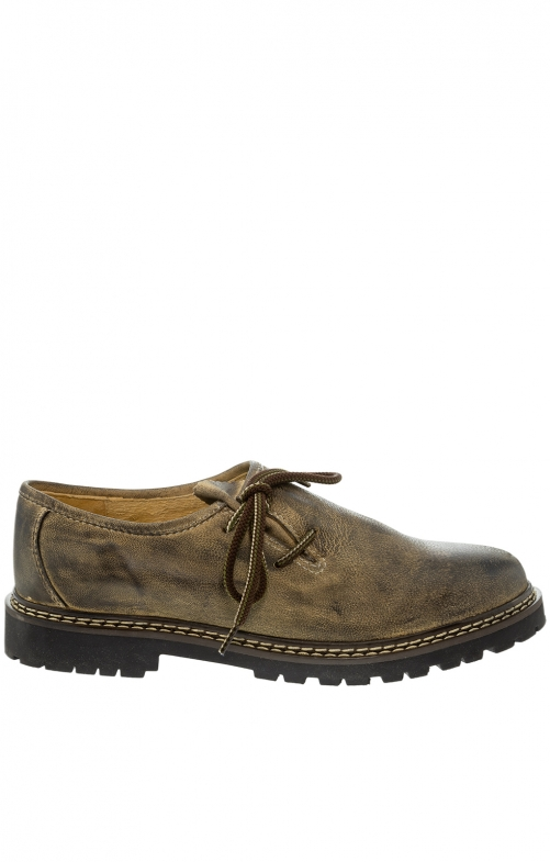 German traditional shoes 9660-7 bruin