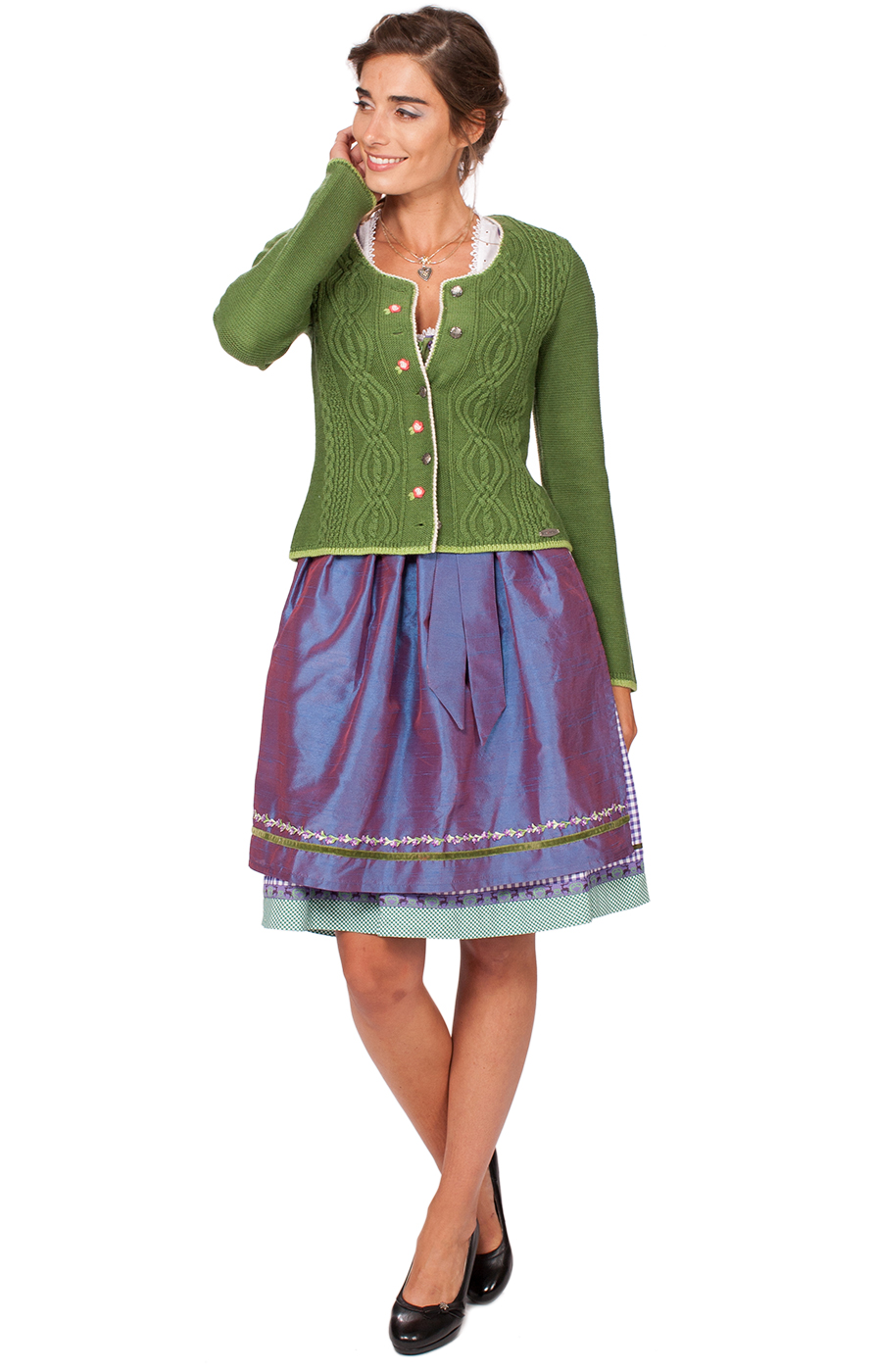 weitere Bilder von Traditional Cardigan Fancy green