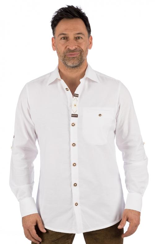 Trachtenhemd MAXIMILIAN weiss