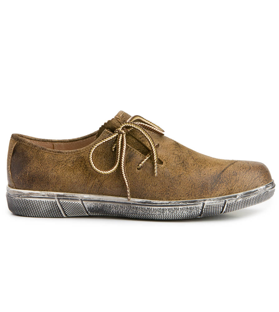 German traditional shoes 1110 havanna von Stockerpoint
