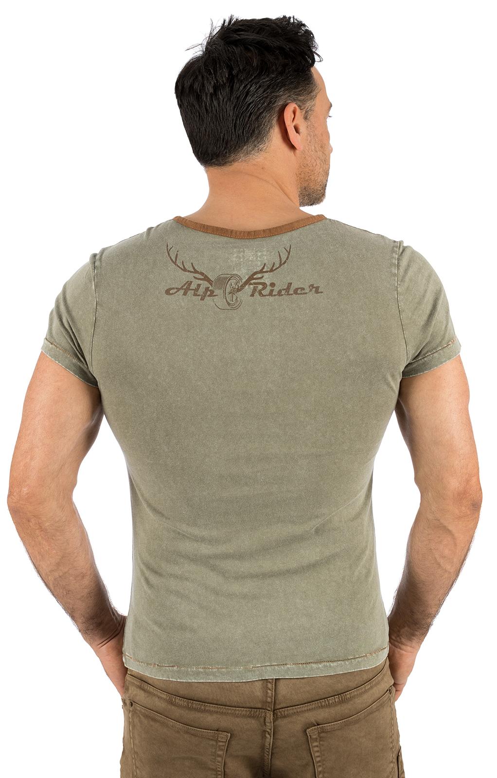 weitere Bilder von Trachten T-Shirt E12 - KARL oliv