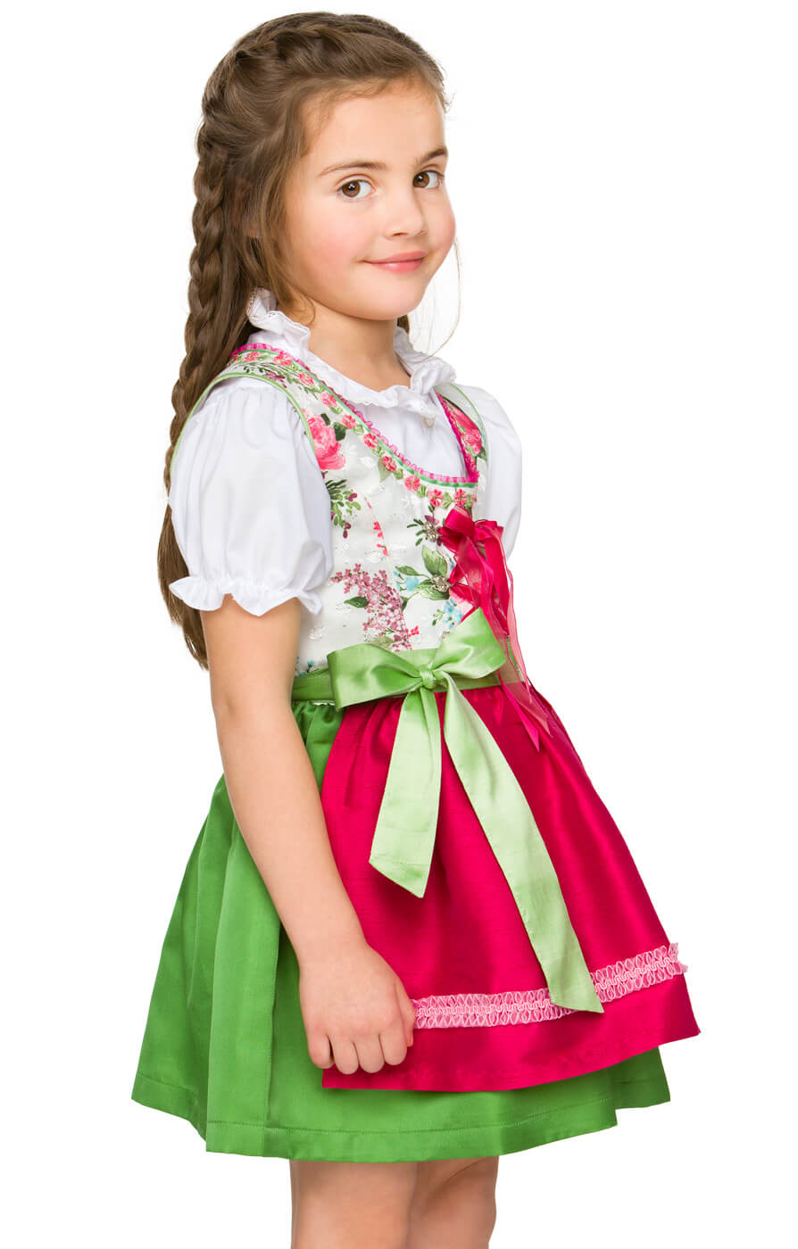 Traditional Children dirndl Eleni pink von Stockerpoint