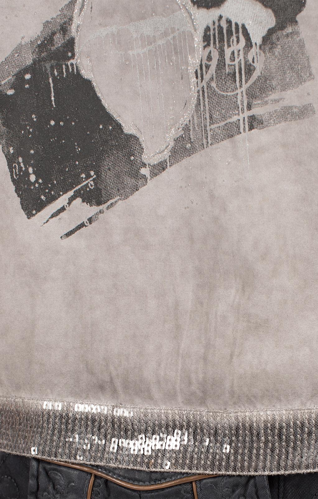 weitere Bilder von Trachten T-Shirt D37 - LUCI grau