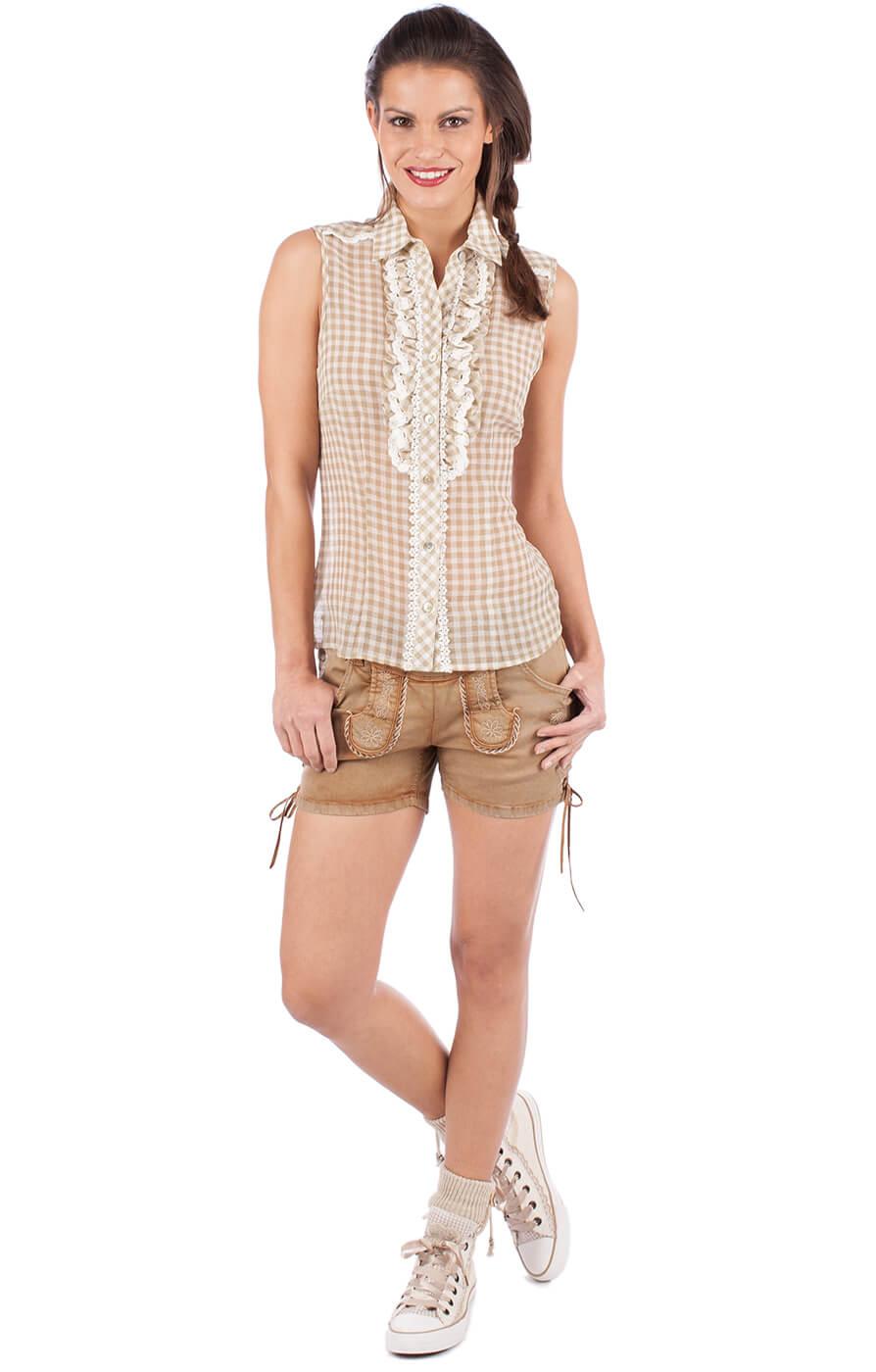 weitere Bilder von Traditional blouse 33822-15 nature