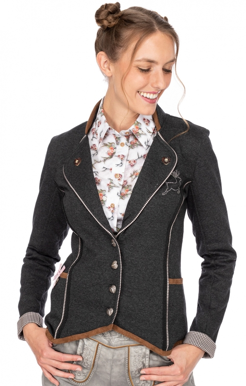 Traditional Jackets Blazer LARA anthracite