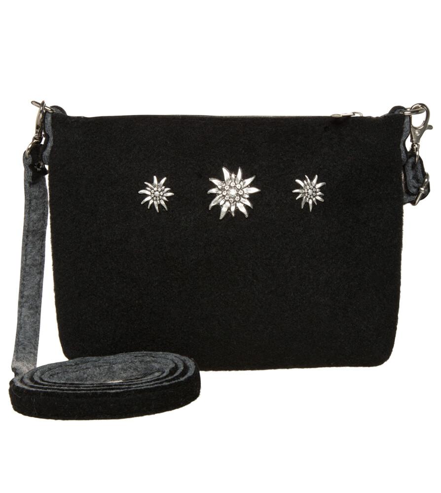 Traditional dirndl bag TA22590-3EDW black von Schuhmacher