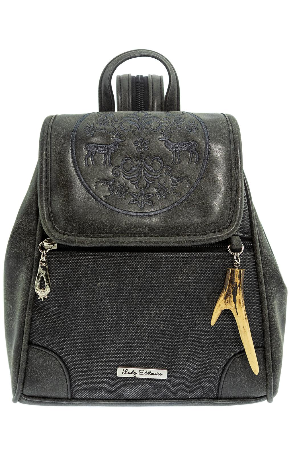 Trachtentasche 11510 anthrazit von Lady Edelweiss