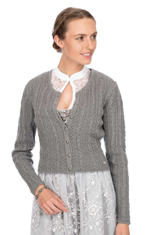 Traditional Cardigan LIZ3 gray