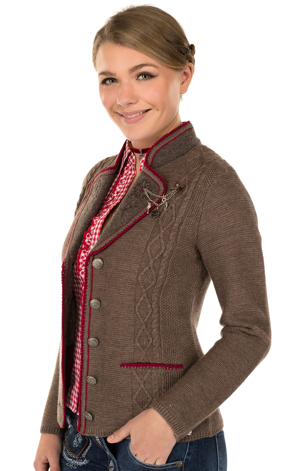 Trachten Jacket brown von Spieth & Wensky