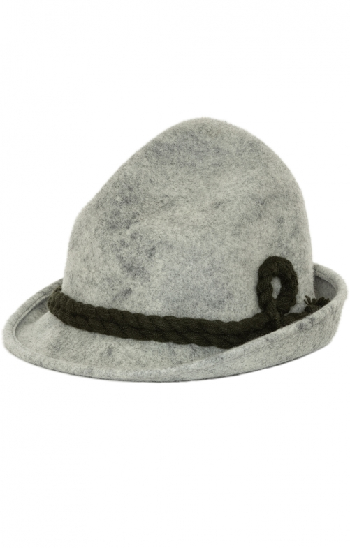 Bavarian oktoberfest hat 1600-A78B light gray