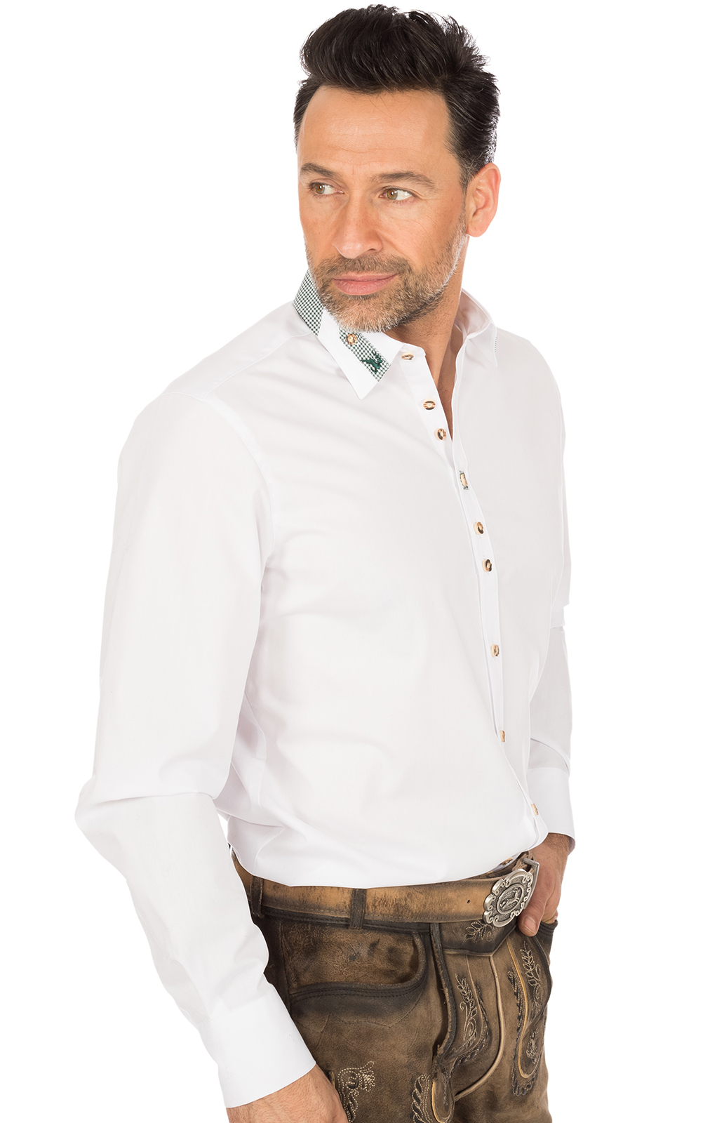 weitere Bilder von German traditional shirt CLASSICO white
