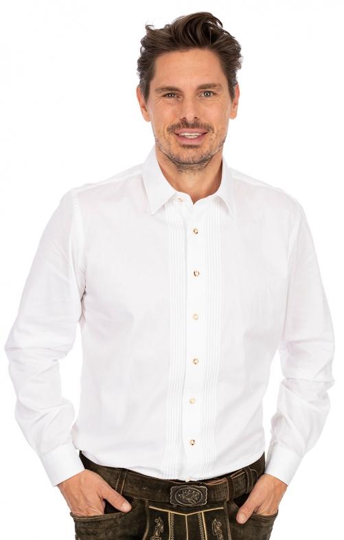Hemd Liegenkragen LF182 weiß
