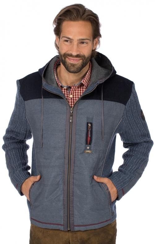 Traditional jacket HARTMUT blue