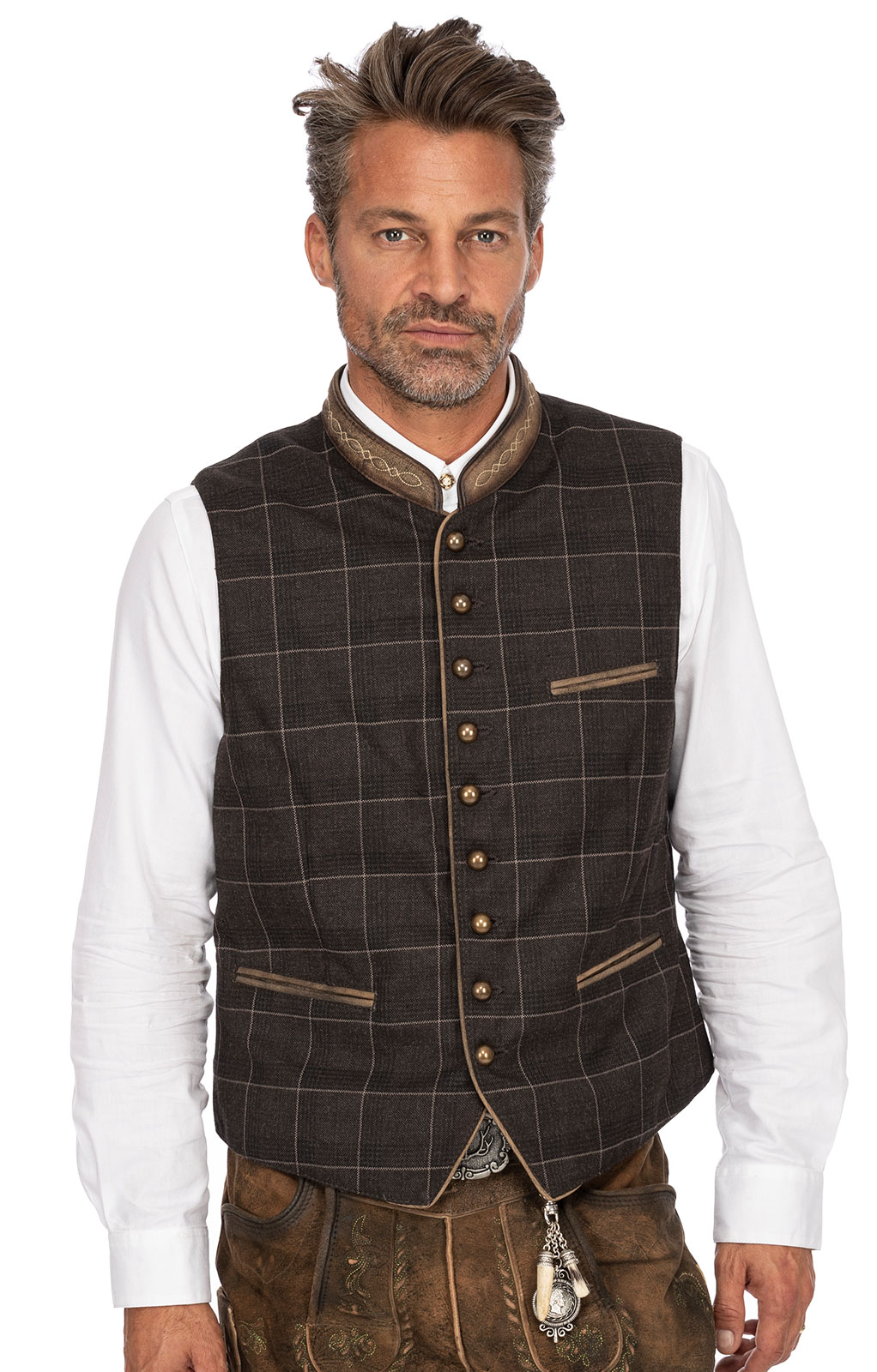Traditional waistcoat THEO brown von Marjo