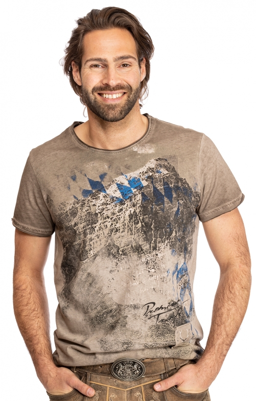 T-Shirt EBERHARD Bavaria beige