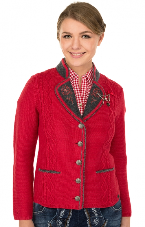 Trachten Jacket red