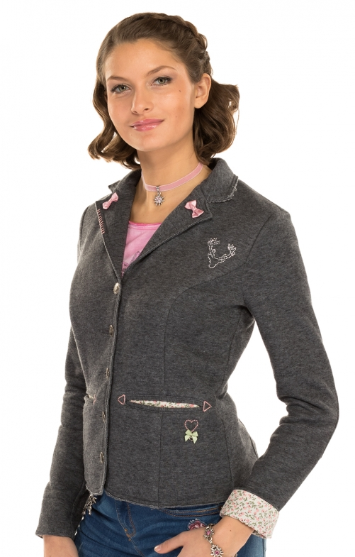 Trachten K67 - SOFTBLAZER Jacket gray